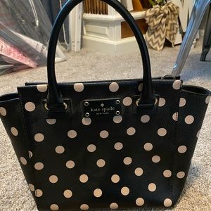 Kate Spade Polka Dotted Purse